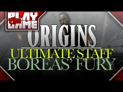 ORIGINS | The ULTIMATE Wind Staff! 'Boreas' Fury'! (Black Ops 2 Zombies)