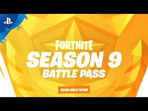 fortnite season 9 battle pass overview ps4 - how to crawl in fortnite ps4