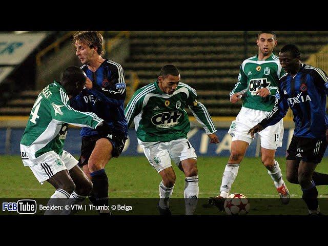 2004-2005 - Beker Van België - 03. Kwartfinale - Club Brugge - La Louvière 2-2