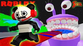 ESCAPE SPACE ALIENS ROBLOX OBBY Let's Play with Combo Panda