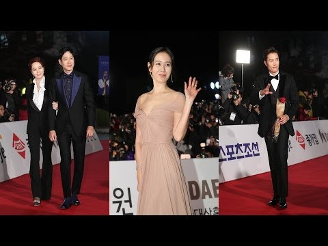 [풀영상] 제37회 청룡영화제 레드카펫 현장(37th Blue Dragon Awards Red Carpet, 손예진, 이병헌, 정우성, 배두나) [통통영상]