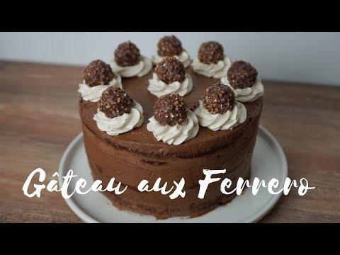 gâteau-aux-ferrero