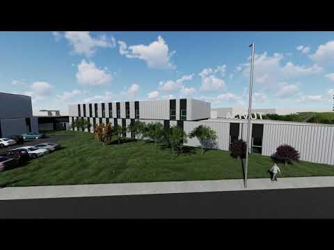 Vídeo de recreación de las nuevas cocheras de Tuvisa y BEI