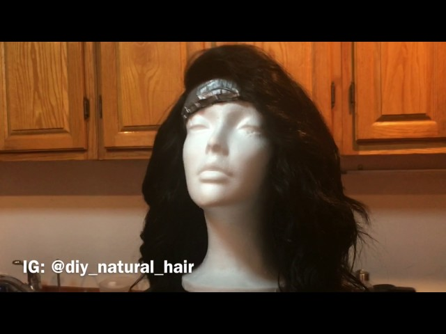 MAYVENN Malaysian Body Wave 14 Hair and frontal  with end results of my first self made wig bob cut