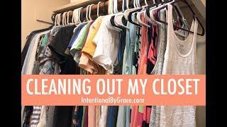 Closet Clean Out! || KonMari Method