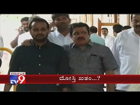 Congress Leader Zameer Ahmed Arrives Vidhana Soudha Ahead Of Assembly Session