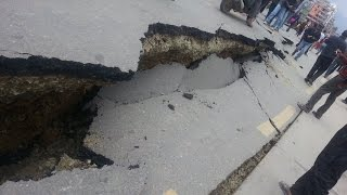 Major Earthquake Strikes India-Myanmar Border, Imphal In Manipur, Bangladesh 2016