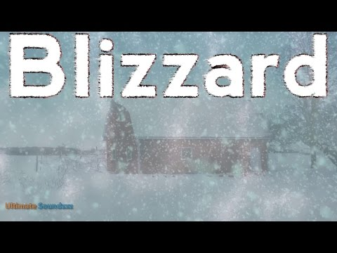 🎧 EPIC Blizzard Ambient Noise -  11 Hours Heavy Snowstorm | Winter White Noise | @Ultizzz day#8