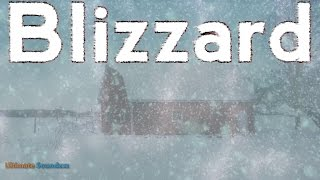 Gambar cover 🎧 EPIC Blizzard Ambient Noise -  11 Hours Heavy Snowstorm | Winter White Noise | @Ultizzz day#8