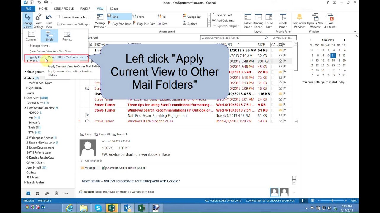 How To Edit The Subject Line Of E Mail Message In Inbox Or Folder