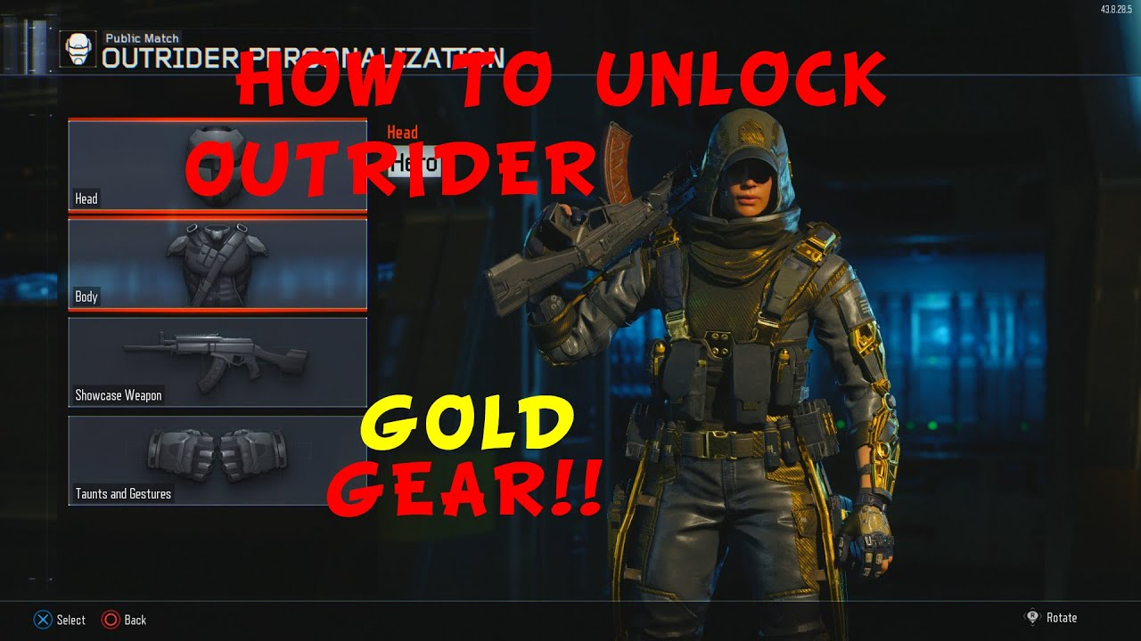 How To Unlock Outrider's Hero Gear (Outrider