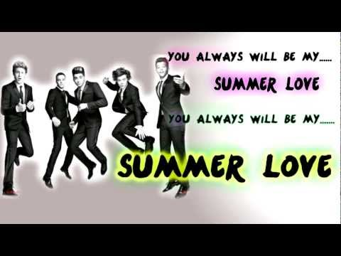 One Direction - Summer Love (Lyrics HD)