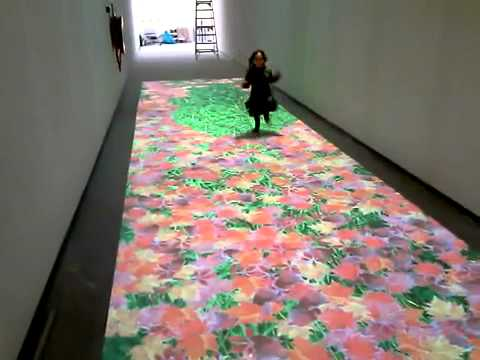 Event Ideas Using Interactive Floor Projection Youtube