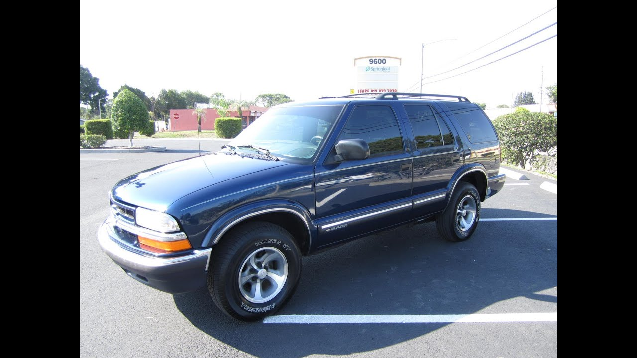 SOLD 2001 Chevrolet Blazer LT 2WD Meticulous Motors Inc ...