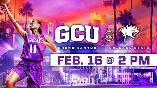 GCU Women's Basketball vs. Chicago State Feb 16, 2019 thumbnail