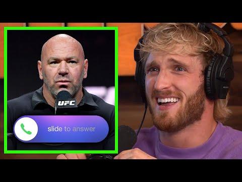 LOGAN PAUL'S SURPRISING CALL FROM DANA WHITE...