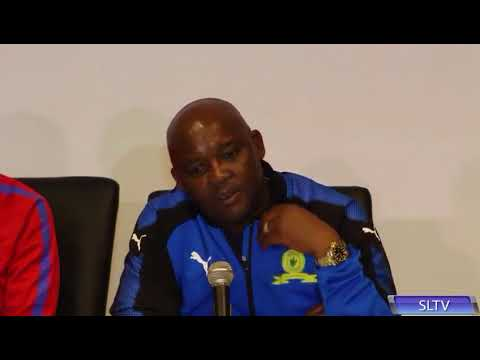 Pitso Mosimane on Downs v Barca