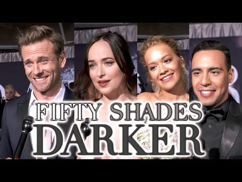 'Fifty Shades Darker' Premiere - Dakota Johnson, Jamie Dornan, Eric Johnson,  Rita Ora (2017) [HD]