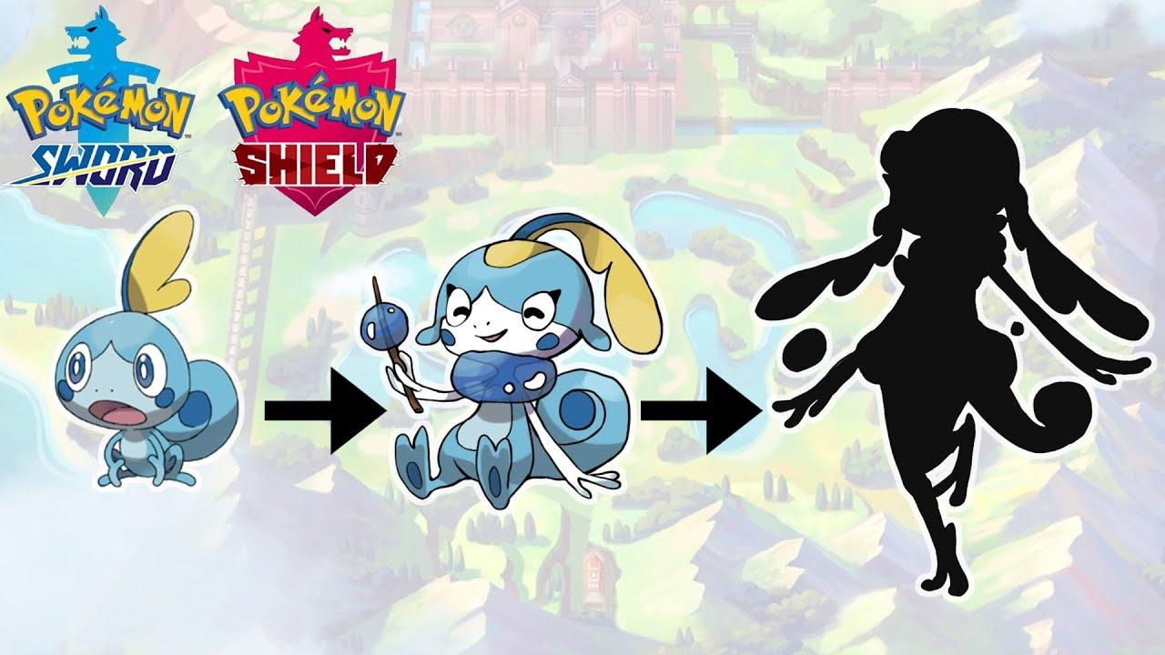 Sobble Evolution Pokemon Sword Shield Starter Fanart Youtube