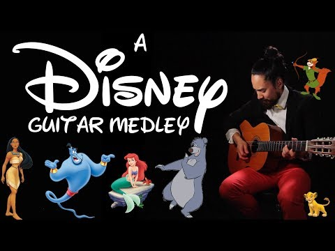 A Disney Guitar Medley
