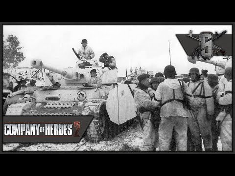 Panzer Army vs Whole Soviet Union - Company of Heroes 2 - Theater of War: Case Blue Singleplayer #3