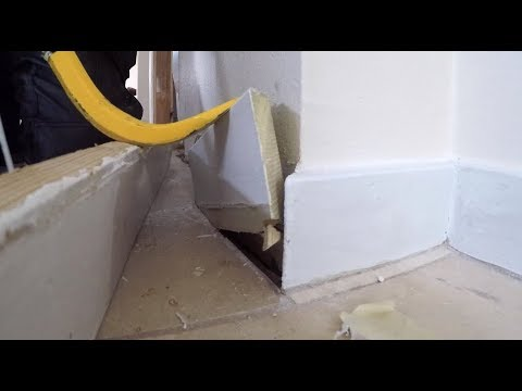 Always Remove Your Baseboard Before Installing Floor Youtube