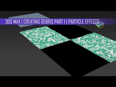 Creating Debris Part 1 | 3dsMax | Mental Ray | Video