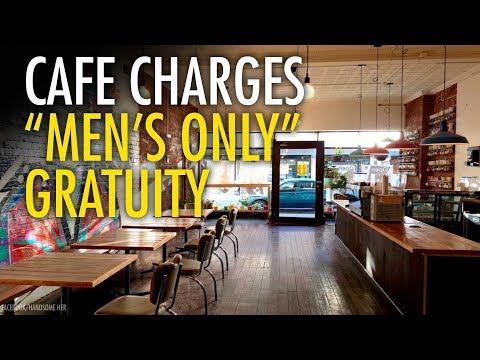 "Australian café's ""men only"" charge highlights male inequality"
