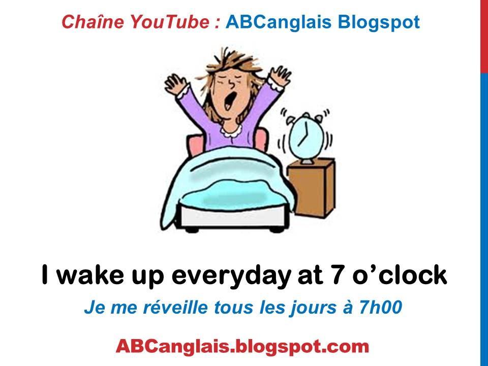Cours d 39 anglais 39 d crire la routine le quotidien en anglais vie de tous les jours les - Repas de tous les jours ...