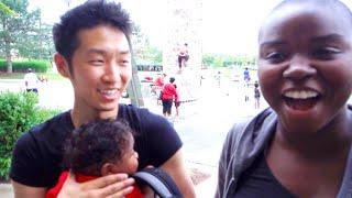 WIFE SPEAKS KOREAN? | AMBW VLOG