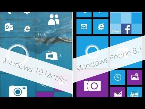 Что быстрее Windows 10 Mobile или Windows Phone 8.1