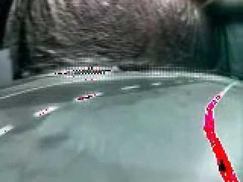 Donkey car network visualization based on Nvidia paper