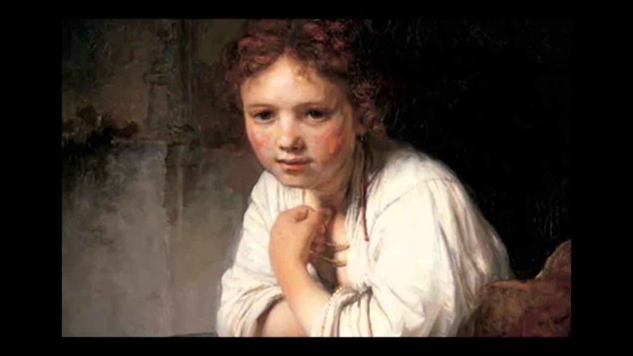 Рембрандт, «Девушка у окна» - YouTube