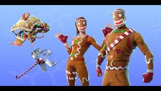 GINGERBREAD SKIN!! LET'S SHOP IT ALL!! 300 ISCRITTI CONTEST! Live FORTNITE!! [CN_CLAN]