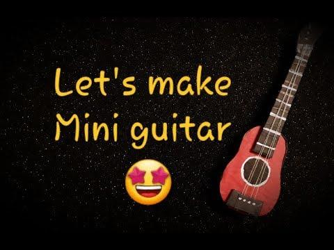 Lets make mini guitar |DIY |Malayalam craft| Paper Craft| simple and inexpensive craft |