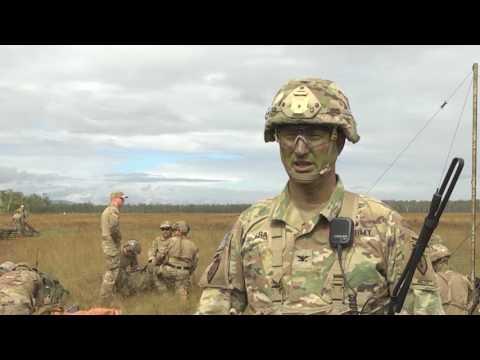Paratroopers jump into Talisman Saber 2017