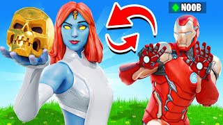 The MYSTIQUE *COPY CAT* Challenge in Fortnite!