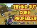 Riding Coke Prepeller In New Update |Creative Destruction|