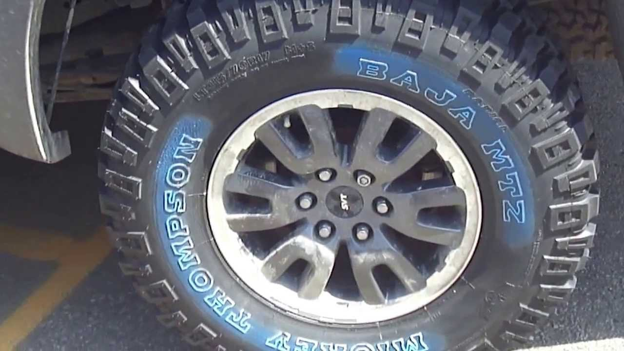 Hillyard Custom Rim Amp Tire Ford Raptor Rolling On Mickey