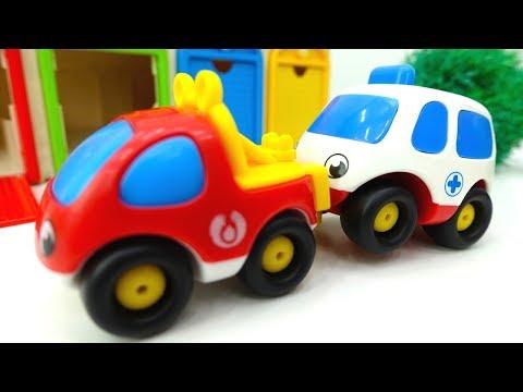 Игры МАШИНКИ! Детские машинки #МашиныПомощники НОВАЯ СЕРИЯ! Развивающее видео для детей! 🏍️ 🚑 🚁