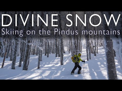 DIVINE SNOW - Skiing On The Pindus Mountains (Greece)