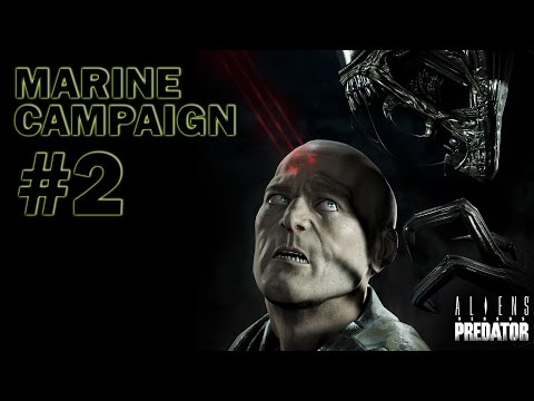 Aliens vs Predator - Marine Campaign Part 2 - THE MATRIARCH!