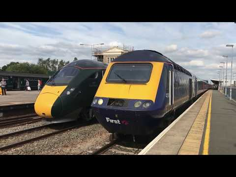 Trains on Great Western Mainline Ft. Class 43 HST, Class 800 IET & Class 387 *HD*