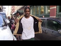 Hip Hop star ASAP Rocky leaves his place in New York City