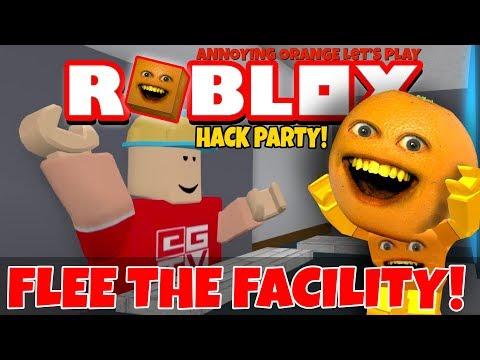 Roblox: Flee the Facility - HACK PARTY! 👨💻  [Annoying Orange Plays]