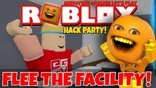 Roblox: Flee the Facility - HACK PARTY! 👨‍💻 [Annoying Orange Plays]