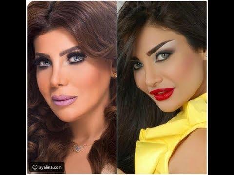 372d59098dfe6 هل أصبحت إلهام الفضالة نسخة عن أمل العوضي بسبب عمليات التجميل ...