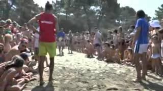 Camping BAIA VERDE  le TARTARUGHE di nuovo in libertà 2012 07 15
