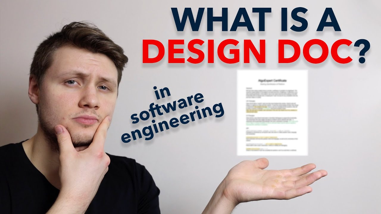 What Is A Design Doc In Software Engineering Full Example Youtube