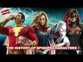 The History of Superhero Spinoff Characters